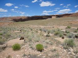 Looking north towards the water tower. - , Utah