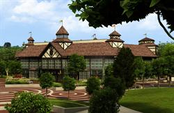 An exterior view of the proposed New Shakespeare Theatre. - , Utah