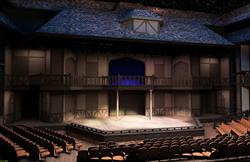 Interior view of the stage. - , Utah