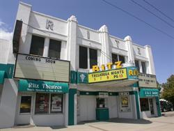 The front facade of the Ritz Theatre. - , Utah