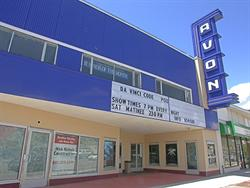 The front of the recently renovated Avon Theater in Heber City, Utah. - , Utah