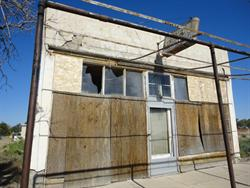 The front of the building south of the Arbon Cafe. - , Utah