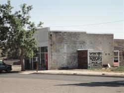 A building near the northwest corner of 200 South Broadway. - , Utah