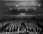 Auditorium of the American Theatre, from the stage looking towards the balcony. - , Utah