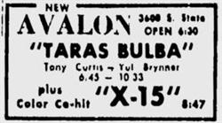 The first advertisement for the Apollo Theatre in the Deseret News. - , Utah