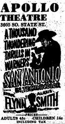 'San Antonio' at the Apollo Theatre. - , Utah