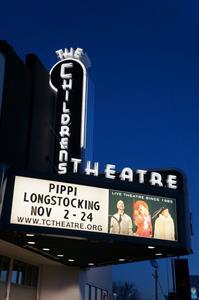 <em>Pippi Longstocking</em> on the marquee in 2012. - , Utah