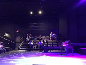 Looking across the stage at the north seating section. - , Utah