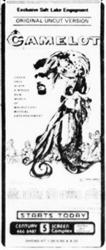 "The ""original uncut version"" of Camelot, at Century. - , Utah"