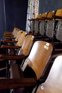 The top two rows of seating in the north section. - , Utah
