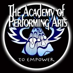 The logo of the Academy of Performing Arts. - , Utah
