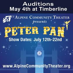 Banner for the 2013 production of Peter Pan. - , Utah
