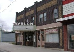 The front of the Avalon in Fillmore. - , Utah