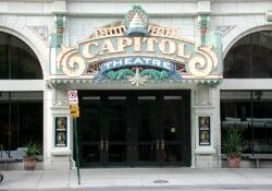 Entrance of the Capitol Theatre in 2001. - , Utah