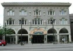 Exterior of the Capitol Theatre in 2001. - , Utah