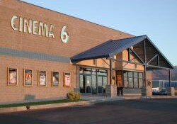 Entrance of the Tooele Cinema 6. - , Utah