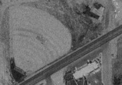 An aerial photo of the Echo Drive-In in 1997. - , Utah