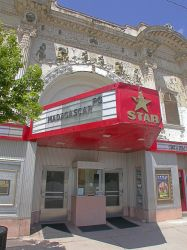 Entrance of the Casino Star Theatre in 2005. - , Utah