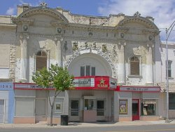 Front of the theater in 2005. - , Utah