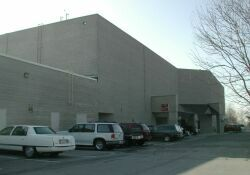 The back (north) side of the theater. - , Utah