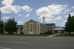 The church building from across the street. - , Utah