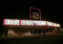The entrance of the Layton Hills 9 theater by night. - , Utah