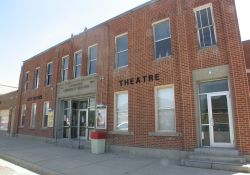 The Lewiston Community Theatre is located in the Lewiston Community Building, which also houses the Lewiston city offices. - , Utah