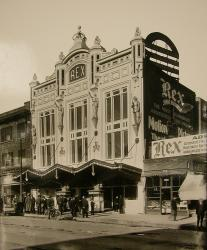 By 5 April 1912, the theater received a new, ornate facade and was renamed the Rex Theatre.  - , Utah