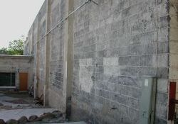 The south exterior wall of the Murray Theatre. - , Utah