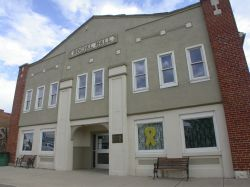 Front of the Panguitch Social Hall. - , Utah