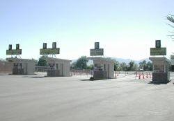 The ticket booths. - , Utah
