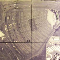 An aerial view of Theater 1 at the Redwood Drive-In. - , Utah