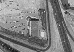 An aerial view of the Regency Theatre in 1997. - , Utah