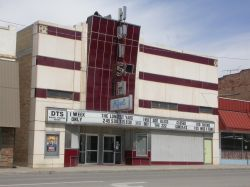 Front of the Huish Theatre in Richfield. - , Utah