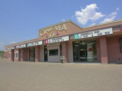 The front of the Cinema 6 theater. - , Utah