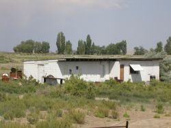 The projection building from the side. - , Utah