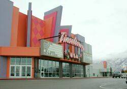 Tinseltown, USA with its sister theater, Movies 10, in the background. - , Utah