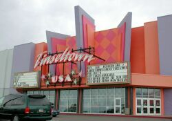 Entrance of the Tinseltown, USA theater in Layton. - , Utah
