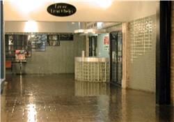 The original entrance of the Trolley Square Cinemas, seen from the north hallway. - , Utah