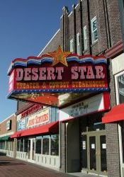 Marquee of the Deseret Star Theater & Cowboy Steakhouse. - , Utah